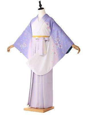 卒業式 女袴レンタル 桜紫 9076