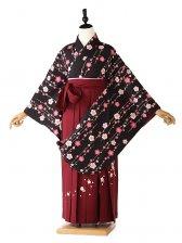 女袴 黒 × ピンク袴 FC9085