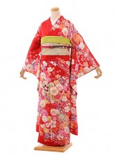 振袖467/asuka/赤/かわいい