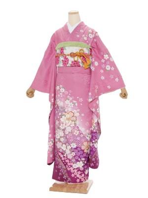 振袖799/ピンク/かわいい