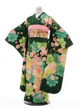 振袖953緑地まり菊桜