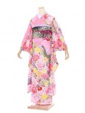 振袖473/RoseRoyal/ピンク/かわいい/成人式
