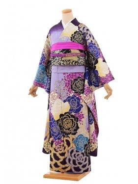 振袖683/MURUA/紫/おしゃれ