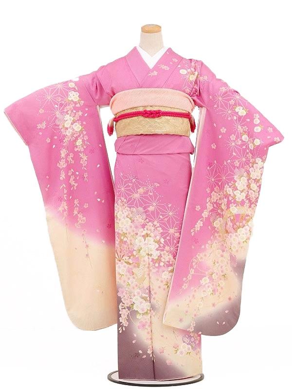振袖233/ピンク/かわいい