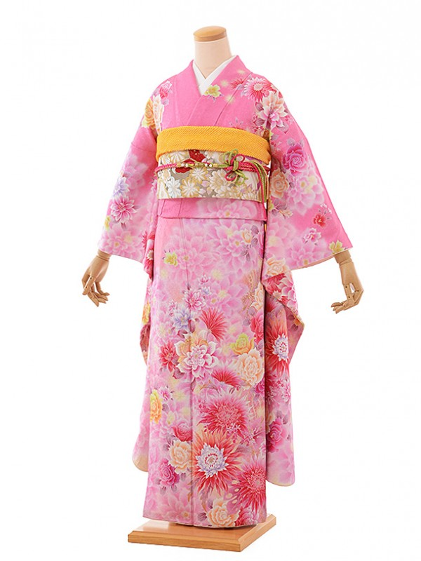 振袖534/ピンク/かわいい