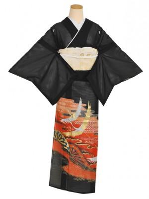 黒留袖(夏)かすみ源氏RT002