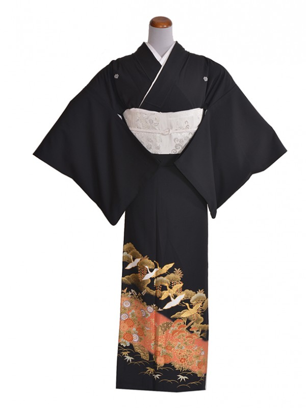 黒留袖(夏)金舞鶴TO525