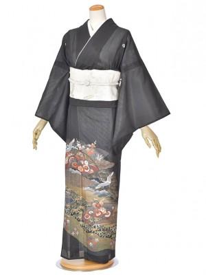 黒留袖(夏)飛鶴