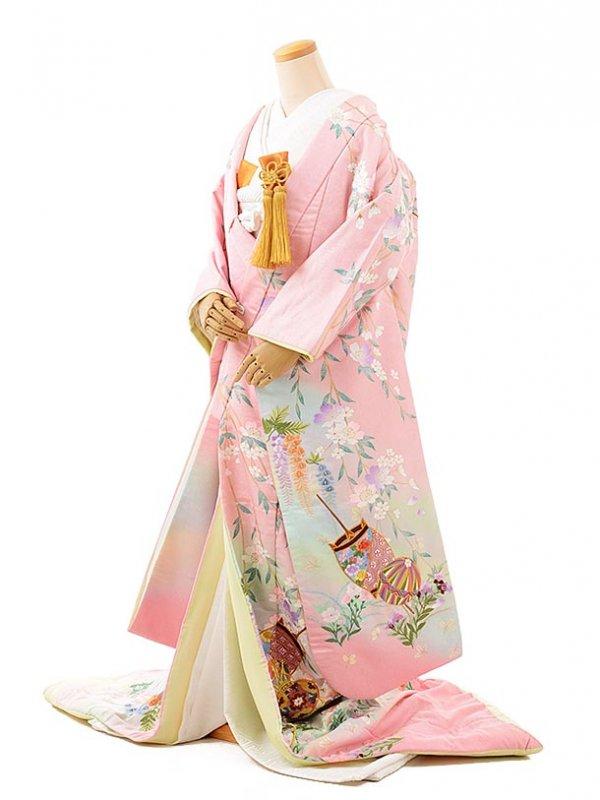 色打掛レンタル209uピンク華の宴