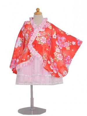 110サイズ キッズドレス KD194 着物ドレス