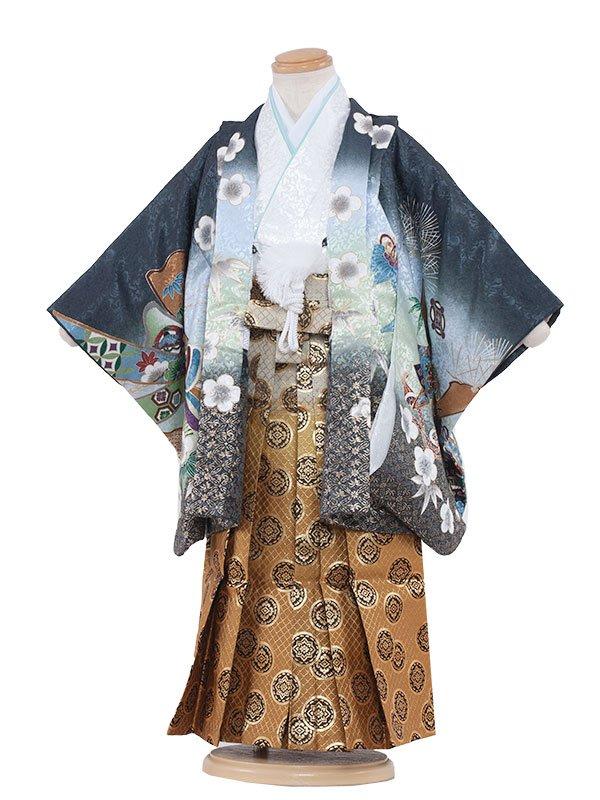 七五三(3男)3070 刺繍兜 袴53