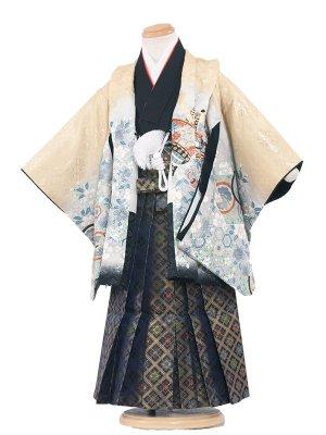七五三レンタル(3歳男袴)3100 シャンパンゴールド×鷹