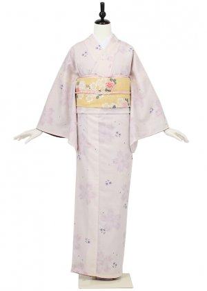 小紋0004 薄桃色 桜