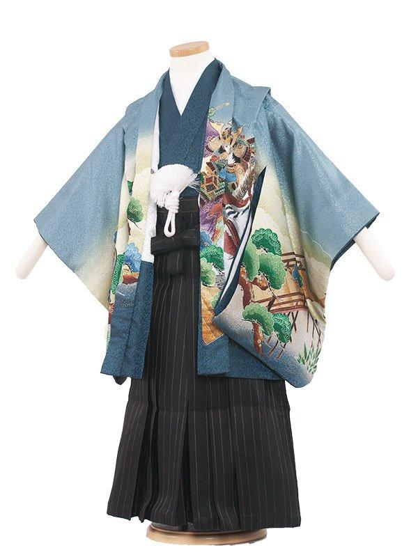 七五三・卒園式袴レンタル(5男)5040 ブルー