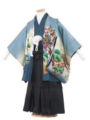七五三レンタル(5歳男袴) 5040 ブルー