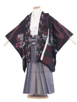 七五三レンタル(5歳男袴) 5070 ワイン/ひさかた勇馬