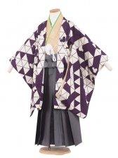 七五三(5男)5155 紫/ミッキー 57cm