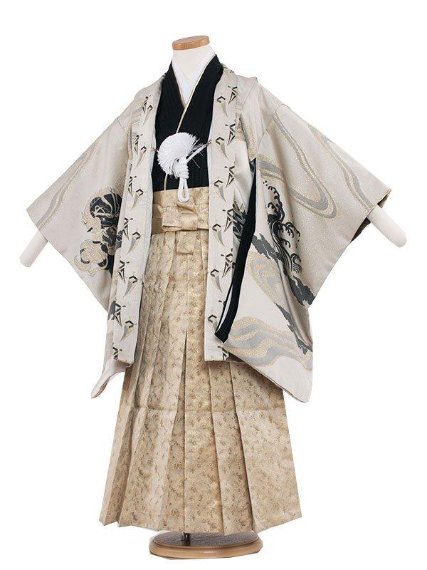七五三・卒園式袴レンタル(5男)5069 クリーム/ひさかた