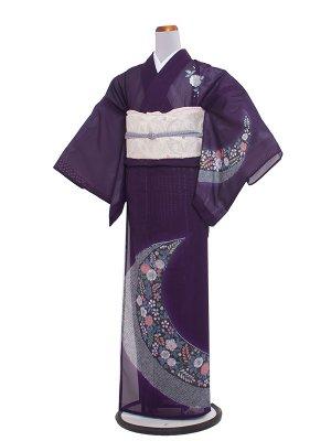 絽 113S紫地/小花