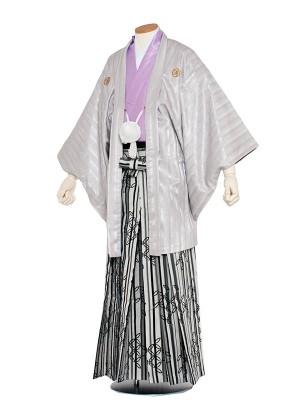 男性用袴 5号シルバーホワイト2/5X02