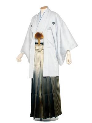 男性用袴 5号白格子柄/5H0