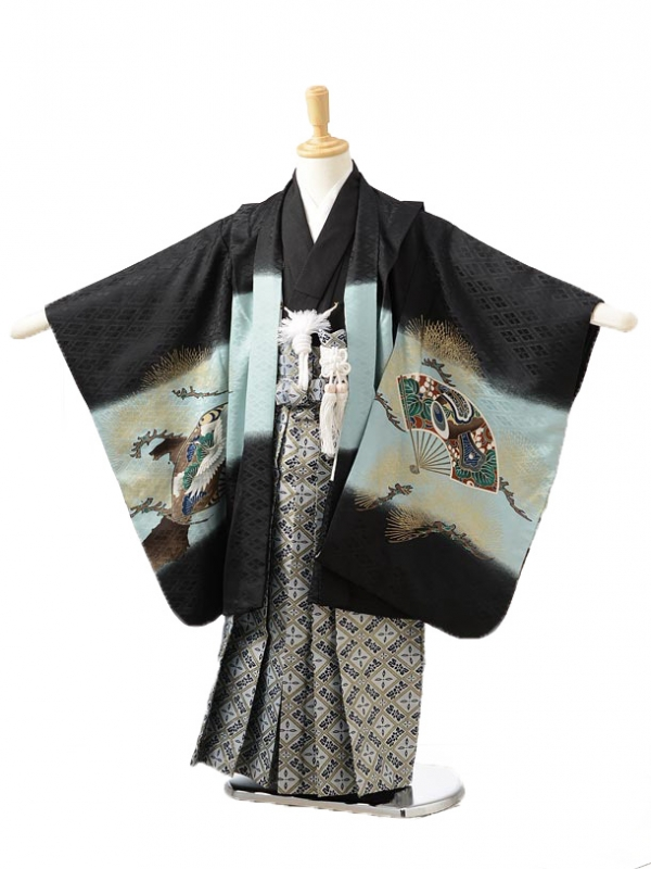 753レンタル(5歳男袴)0533黒鷹