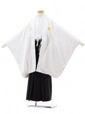 753レンタル(7歳男袴)0809白×黒
