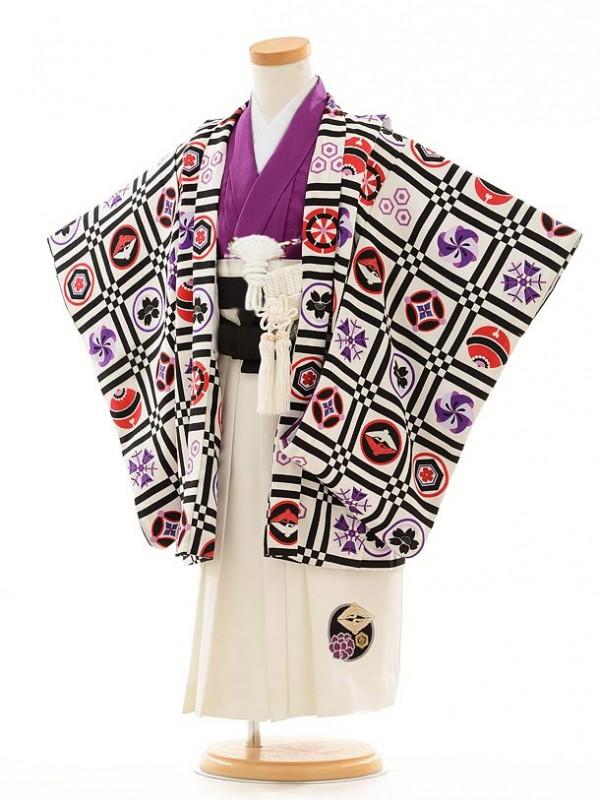 753レンタル(3歳男袴)0205つるの×JSパープル