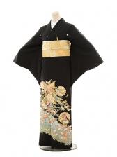 黒留袖レンタルE060 平安絵巻