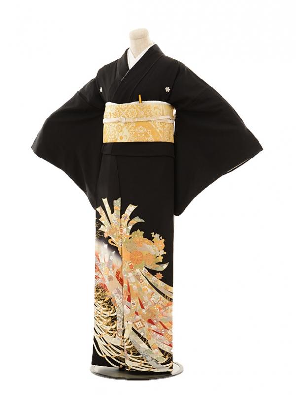 黒留袖レンタルE004 桂由美 熨斗
