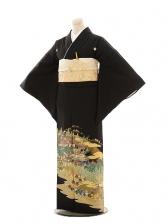 黒留袖E128 石清水祭