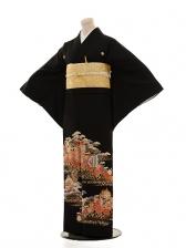 黒留袖E011 茶つぼ