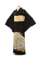 黒留袖レンタルE061 椿景色