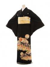 黒留袖レンタルE017 なでしこ巻紙