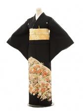 黒留袖レンタルE099 菊に橘