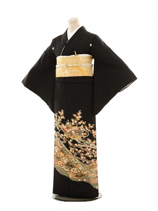 黒留袖レンタルE050 文箱