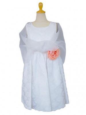 女の子ドレス日本製 060-WHホワイト 100