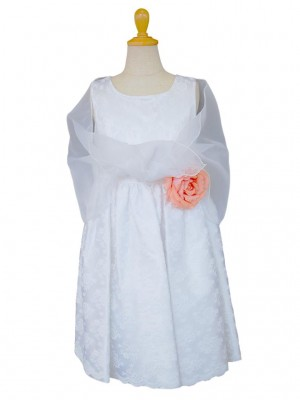 女の子ドレス日本製 060-WHホワイト 90