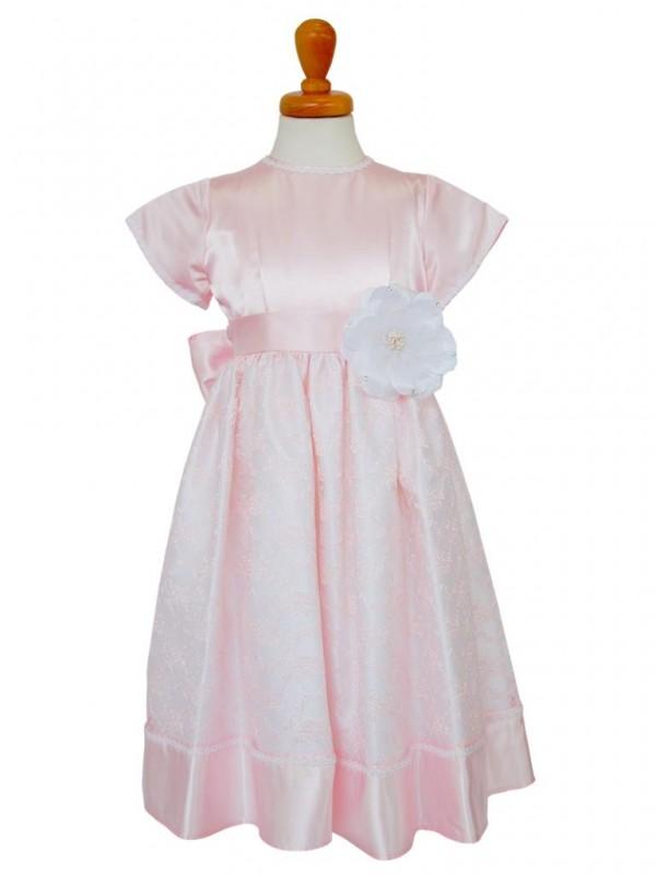 女の子ドレス日本製 015-PKピンク 110