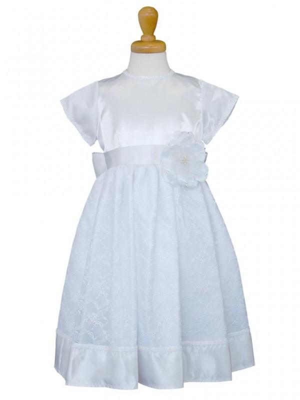 女の子ドレス日本製 015-WHホワイト 140