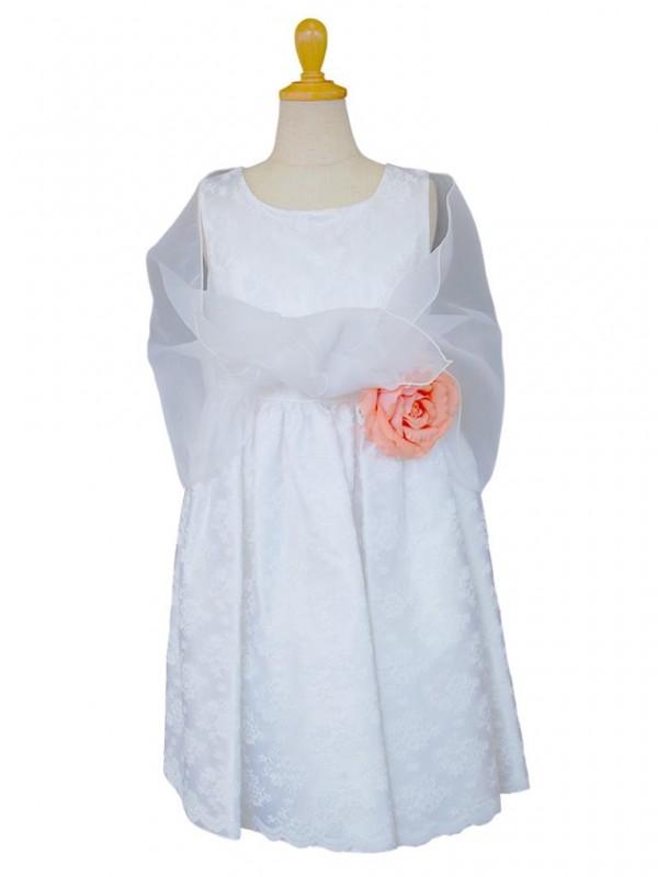 女の子ドレス日本製 060-WHホワイト 120