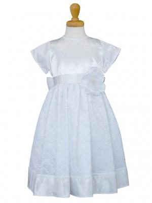 女の子ドレス日本製 015-WHホワイト 100