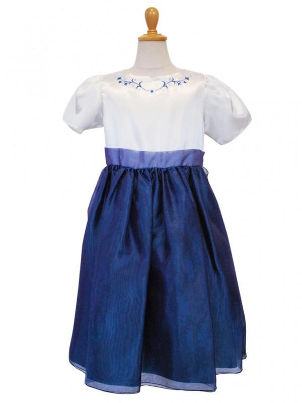 女の子ドレス 509-KNロイヤルブルー 140