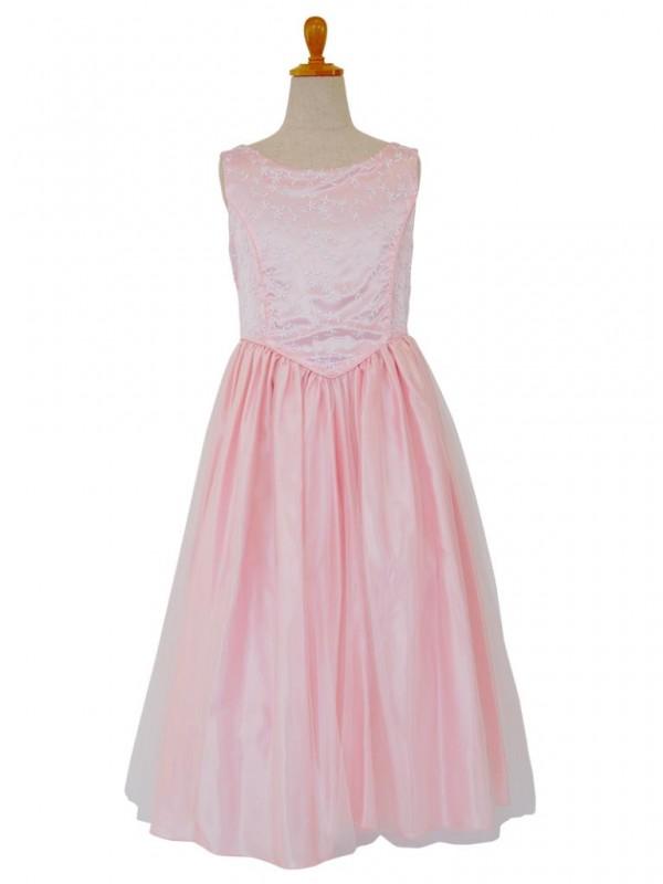 女の子ドレス日本製 004-PKピンク 160
