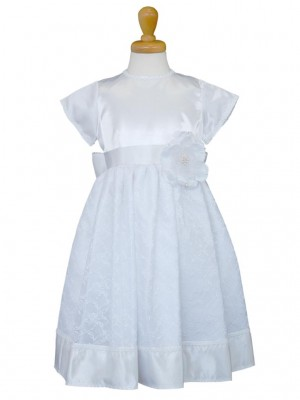 女の子ドレス日本製 015-WHホワイト 120