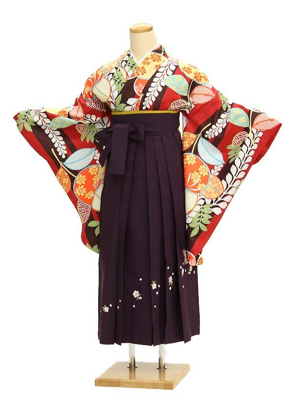 小学生卒業式袴レンタル(女の子)AR0017