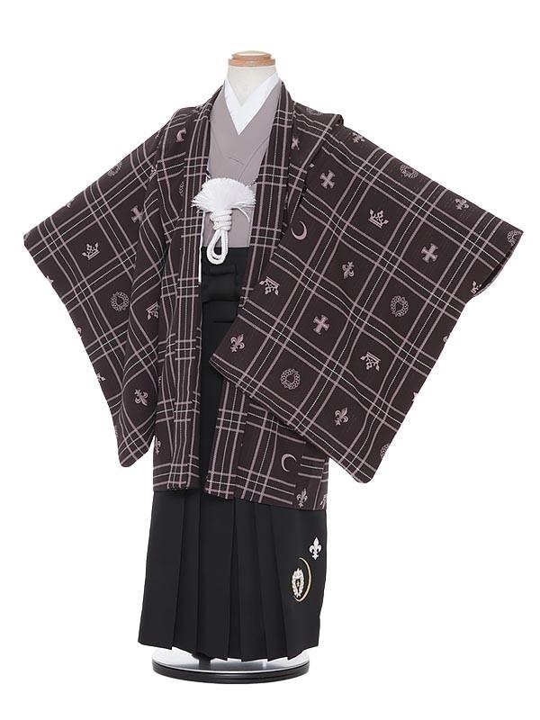 七五三レンタル(5歳男袴)H507 SEIKO MATSUDA 紺地