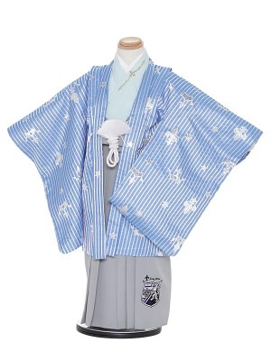 七五三レンタル(5歳男袴)H305 SEIKO MATSUDA ストライプ