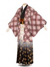 男性用袴 紋服6号おしゃれ赤/6R30