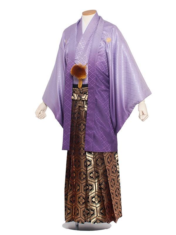 男性用袴 紋服6号紫色/6V00